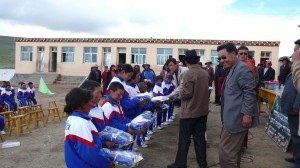 17 sponsored students receiving one extra winter and summer uniforms