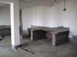 Temple Kitchen Construction