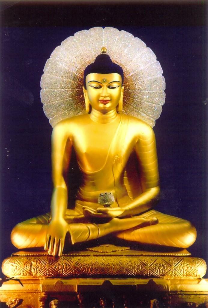 Mahabodhi Statue