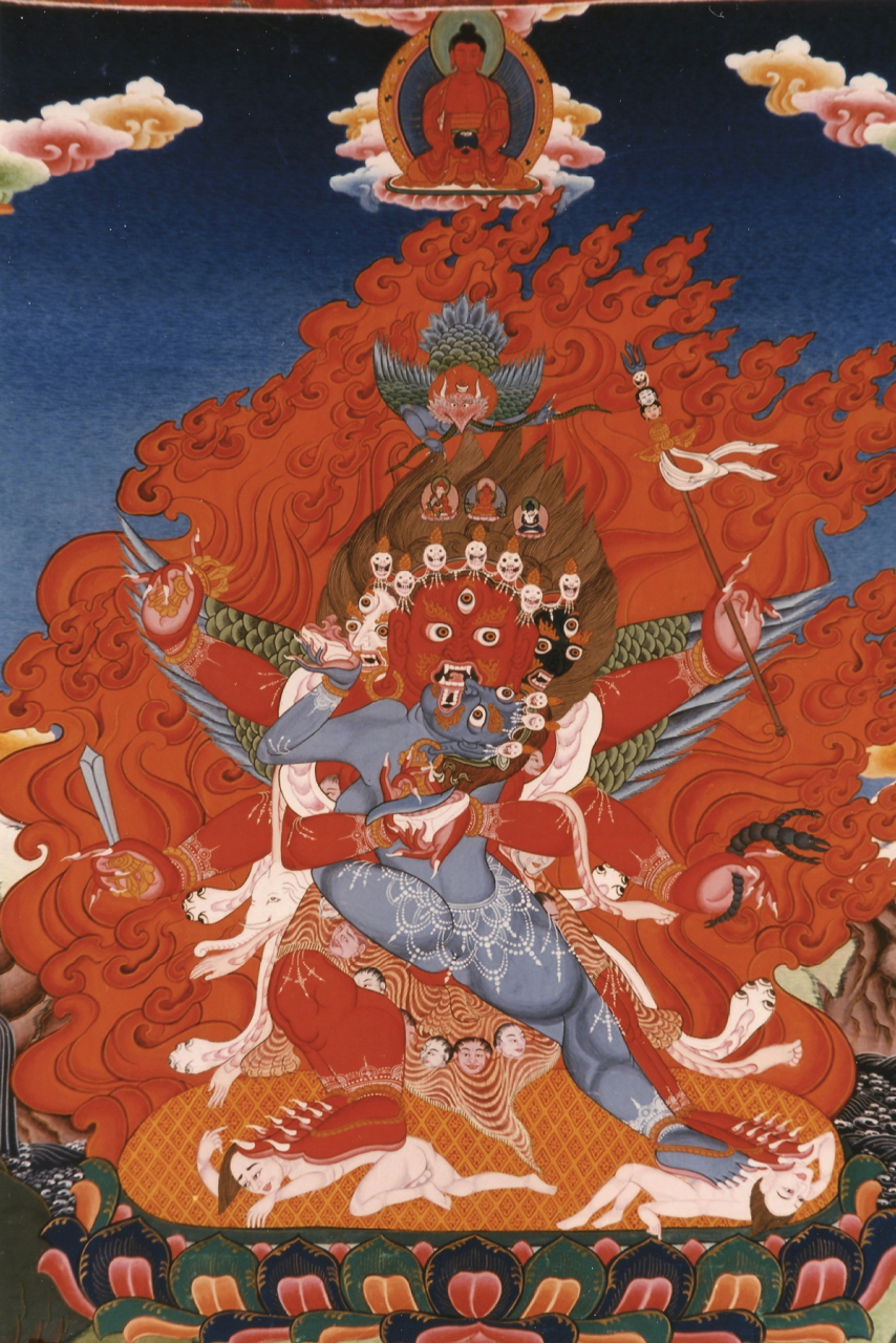 Guru Dragpo (Wrathful Guru Rinpoche)