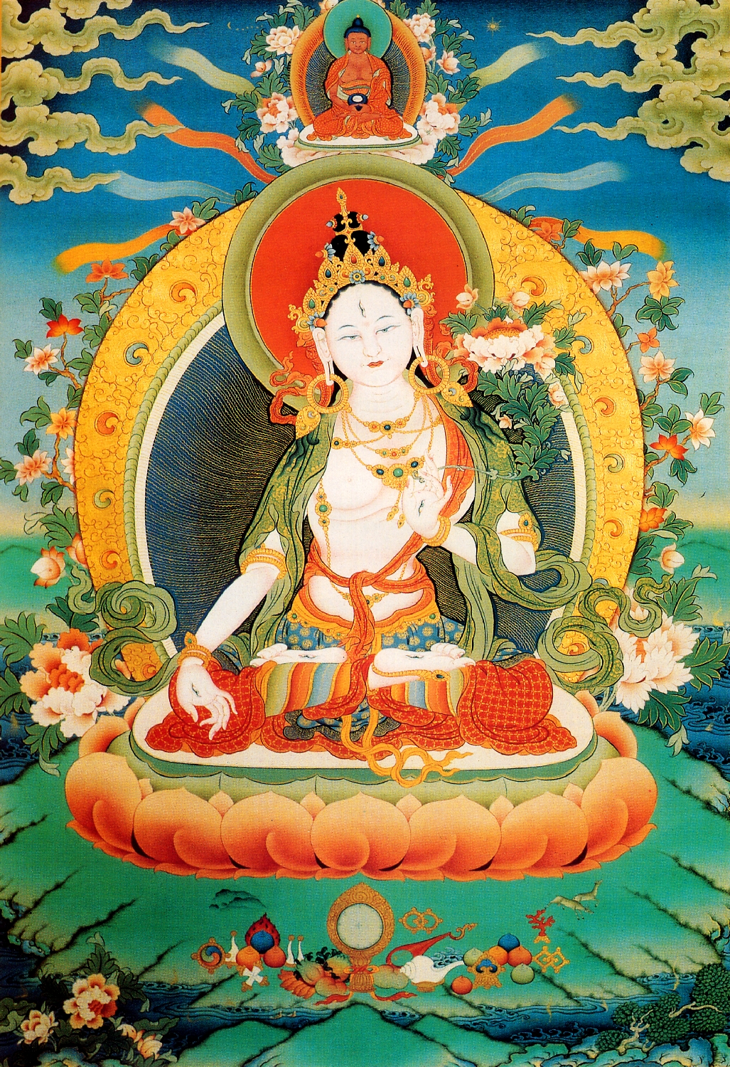 White Tara, deity of long life