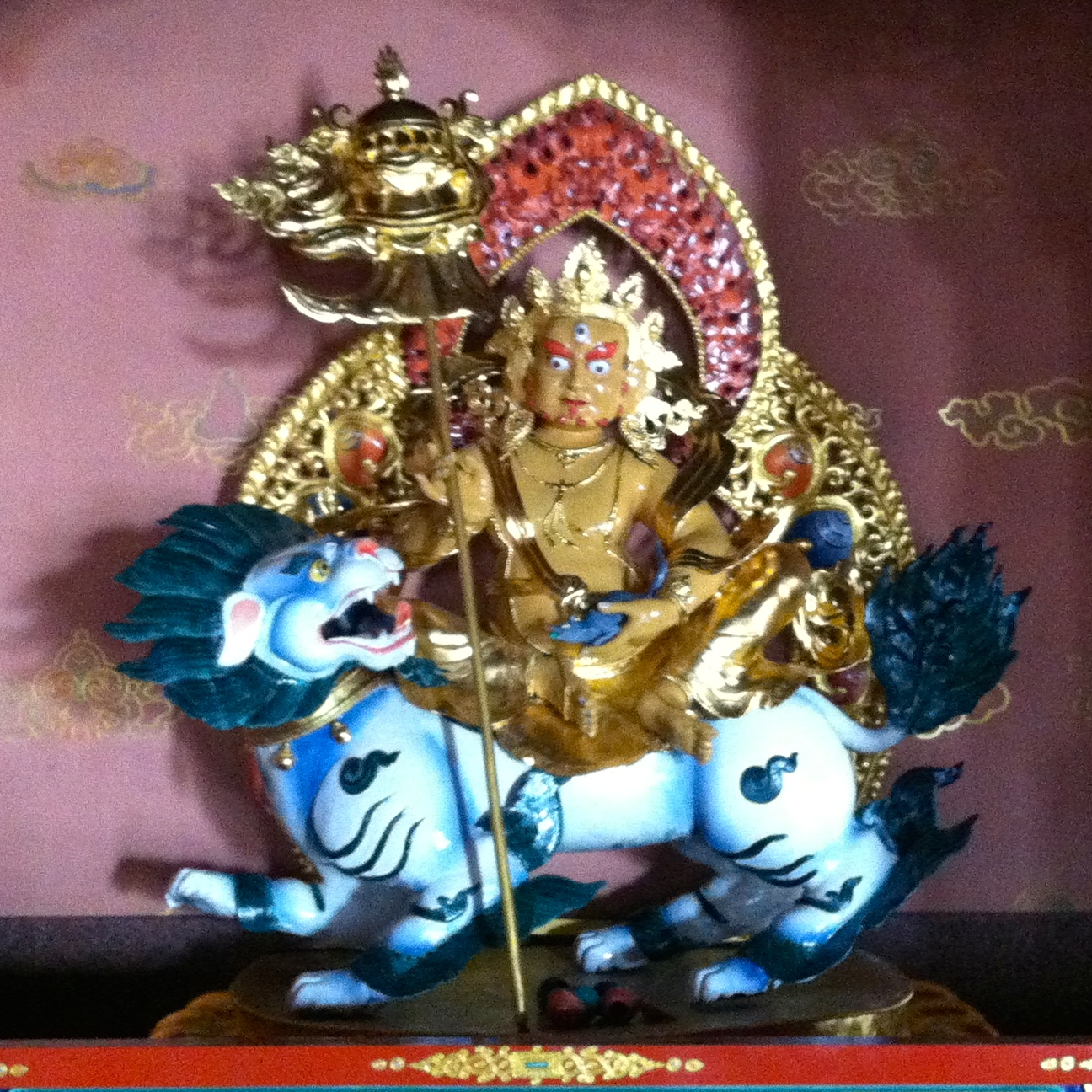 Dzambhala (Wealth Deity) puja in Bylakuppe–Dates changed