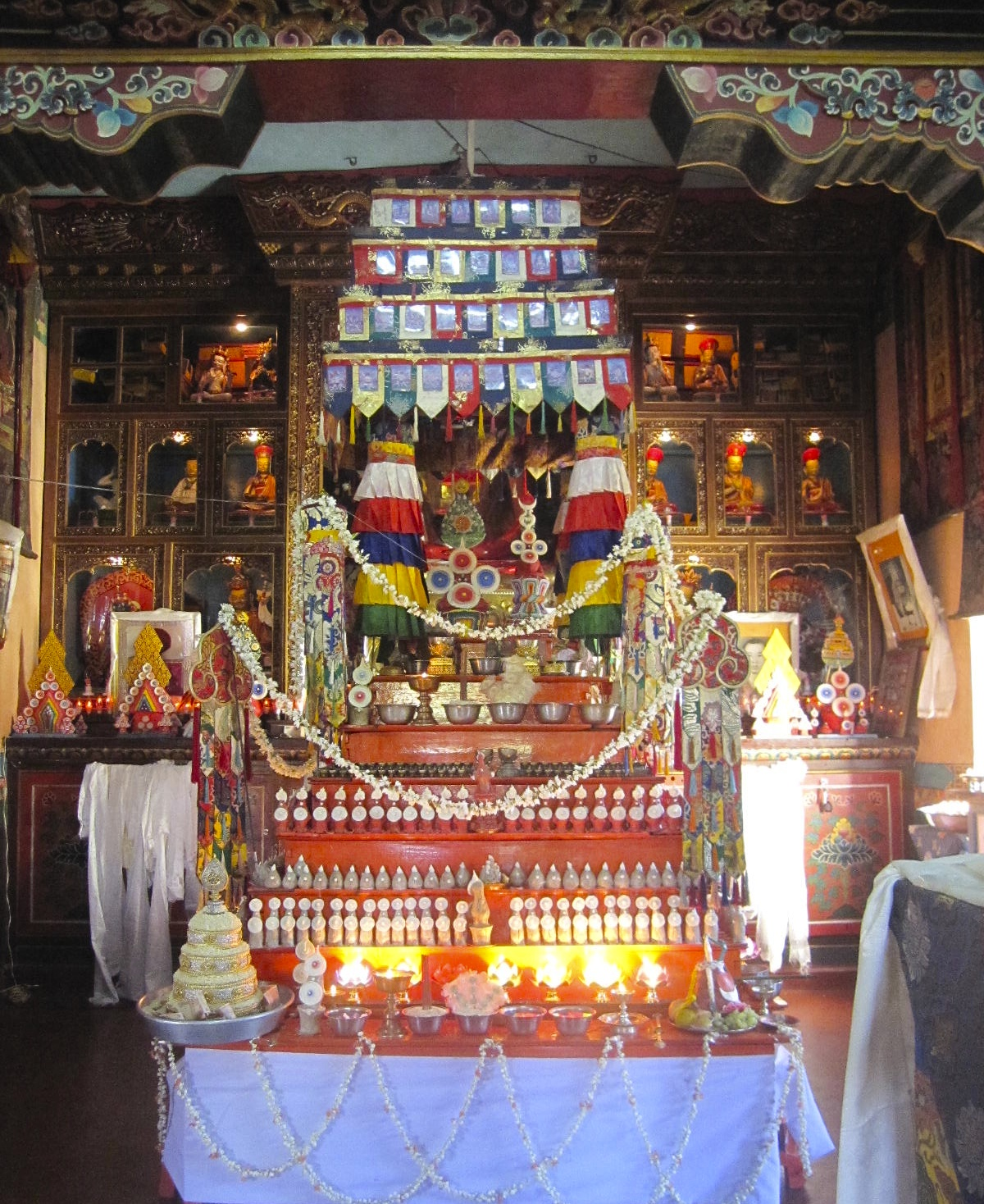 Shitro Shrine Bylakuppe