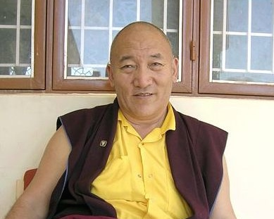 Ayang Rinpoche in Lumbini 2004