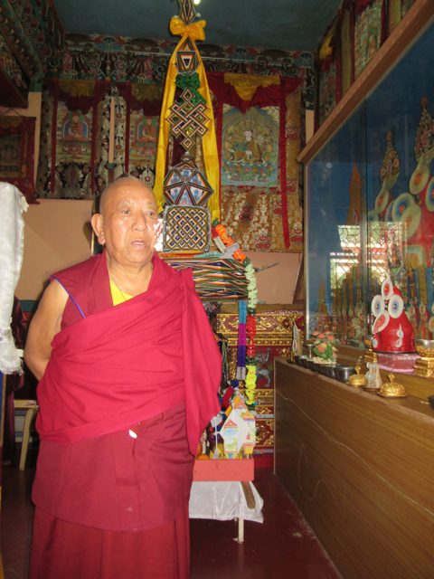 Togden Rinpoche in Bylakuppe