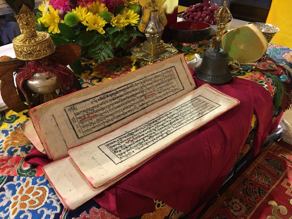 Amitabha empowerment text