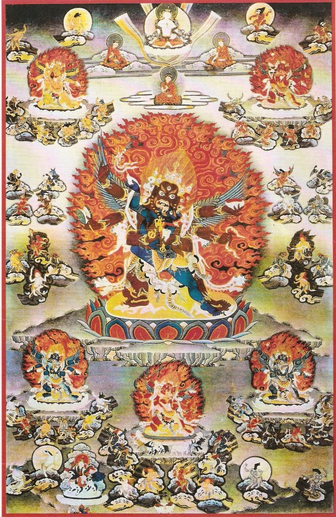 Wrathful Deities Thangka AR