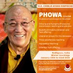 Bodhgaya Phowa Course 2020