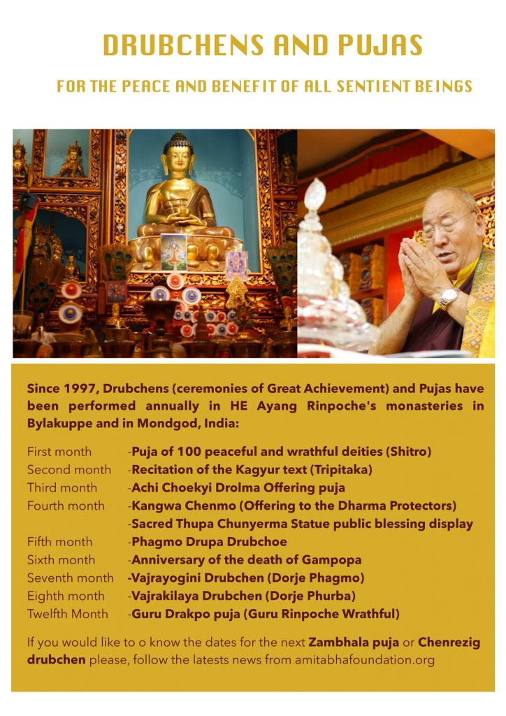 HE Choeje Ayang Rinpoche