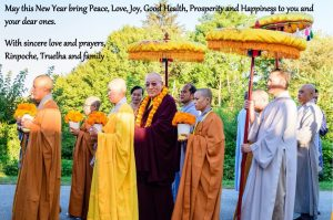 Western New Year Greeting from Rinpoche