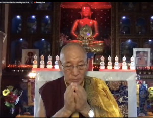 Private Phowa Practice with Rinpoche and Birthday Celebration
